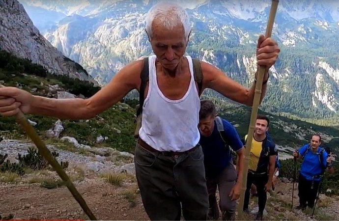 Vojin Mišeljić u 86. godini po treći put osvojio vrh Maglića