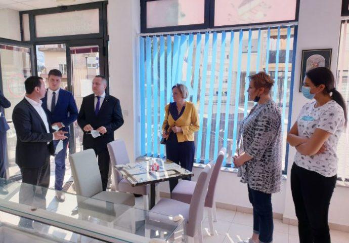 Dan preduzetništva u Trebinju – Ćurić i Petričević  obišli privrednike
