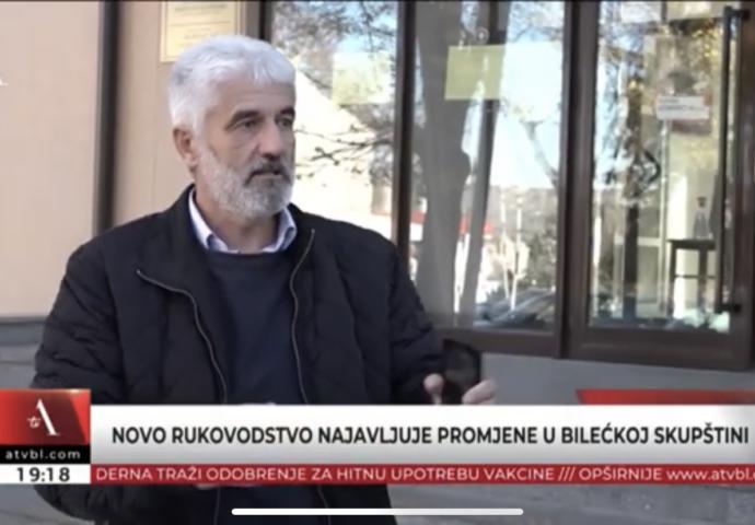 VIDEO: Vujović najavljuje promjene u radu bilećke skupštine