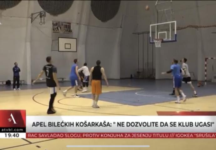 VIDEO: Apel bilećkih košarkaša – Ne dozvolite da se klub ugasi