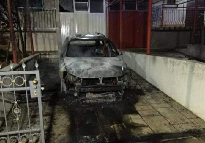 Izgorjelo auto u Gorici