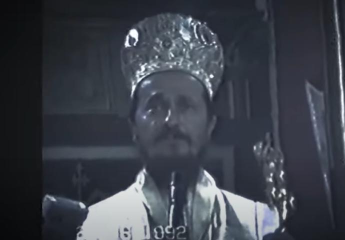 VIDEO: Besjeda Vladike Atanasija na Ustoličenju u Trebinju – Vidovdan 1992.