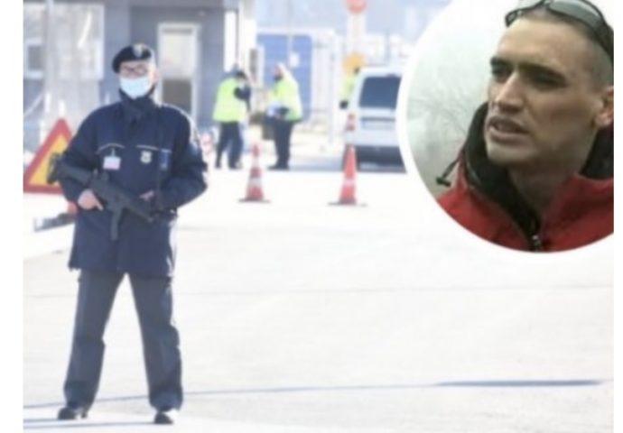 Stotine policajaca na aerodromu- Čeka se da sleti helikopter s Darkom Elezom