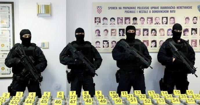 Pola tona kokaina zaplijenjeno u Pločama trebalo završiti u Hercegovini