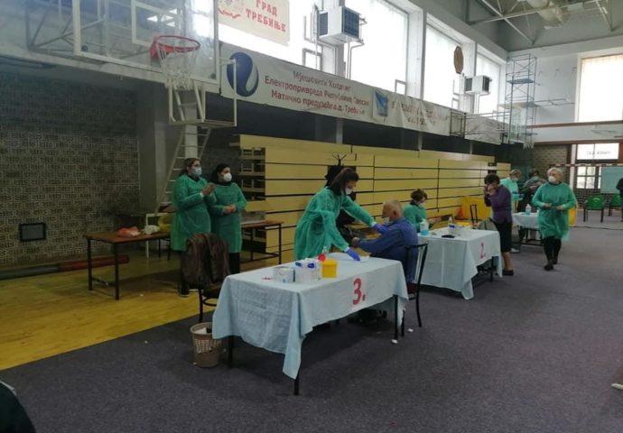 Za dva dana vakcinisano više od 1.000 Trebinjaca
