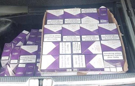 U Nevesinju uhvaćen sa 890 paklica cigareta