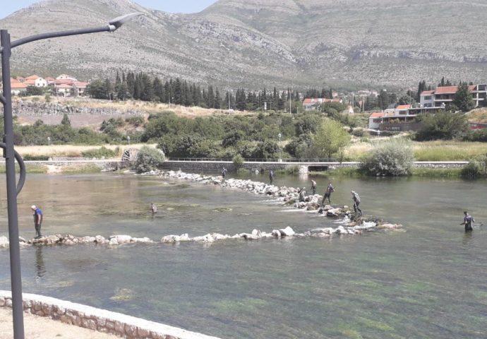 Za ljepšu Trebišnjcu: Radnici HET- a čiste rijeku