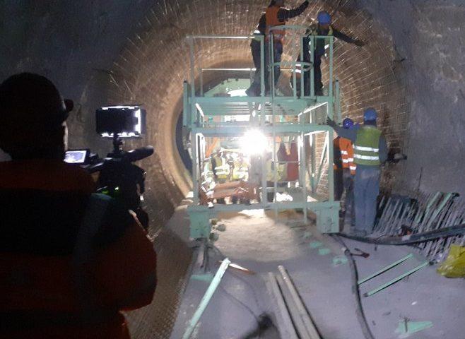 U toku finalizacija dijela dovodnog tunela za HE Dabar