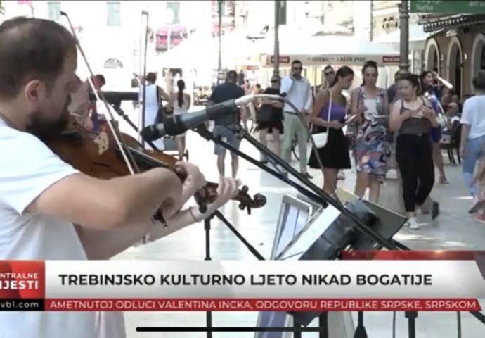 VIDEO: Trebinjsko kulturno ljeto nikad bogatije