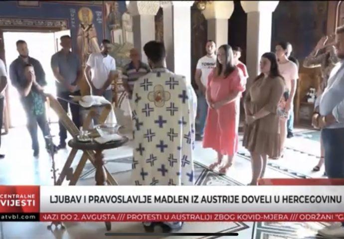 VIDEO: Ljubav i pravoslavlje Madlen iz Austrije doveli u Hercegovinu