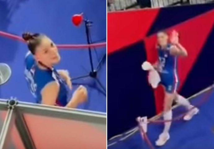 VIDEO: Pogledajte kako su navijači danas u Areni iznenadili Tijanu Bošković
