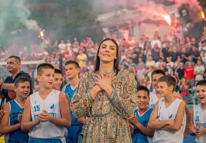 VIDEO: Tijana Bošković u Bileći – Nadam se da će ovde izrasti novi šampioni